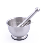 Kitchen helper Spice Metal stainless steel Mortar and Pestle Set