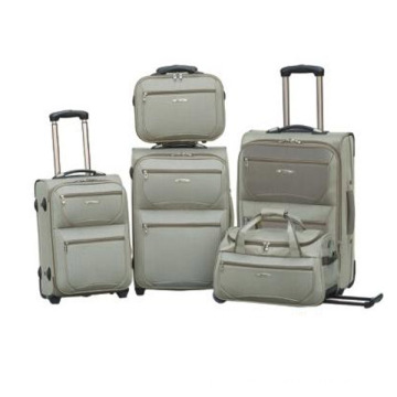 Fashion Soft Inside Trolley Travel Luggage Set