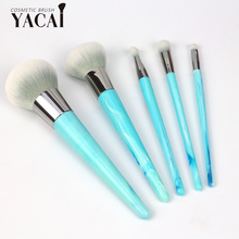 Conjunto de pincéis de maquiagem vegan para cosméticos premium promocional