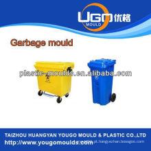 360L e 660L indústria de lixo de plástico lixo molde, injeção lixo pode moldar na China