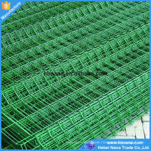 PVC coated welded wire mesh garden fence / PVC coated V pressed welded wire mesh