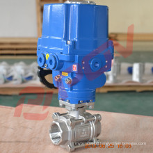 2 inch stainless steel electric ball valve