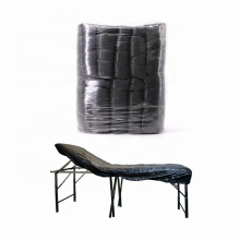 Waterproof Anti Oil Plastic Elasticated Black Massage Table Dental Chair Tattoo Bed Studio Couch Sheet Covers
