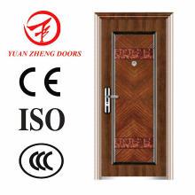 Entrada Puerta Principal Puerta de Seguridad de Acero en China Fabricación
