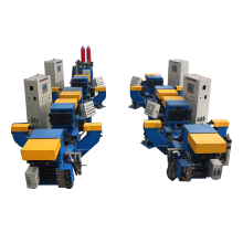 Máquina de fundición por gravedad inclinable para moldes de metal
