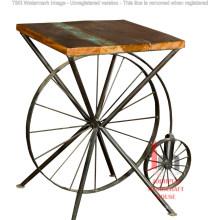Großhandel weit verkauft Industrial Wheel Tisch