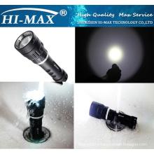 Hot sell Diving Backup light 1000lm xm-l u2 led diving flashlight