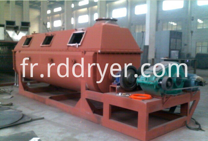 Barium Carbonate Hollow Paddle Dryer