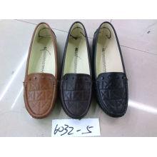 Classic Comfort Lady Shoes com sola plana TPR (SNL-10-010)