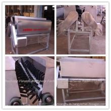 Neck Feather Reinigungsmaschine für Geflügel Schlachtlinie