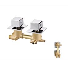 Factory shower panel modern mixer water tap brass bathroom shower faucet