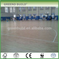 Solid wood birch panels basketball flooring
