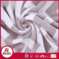 Cobertor coral descartável poliéster impresso 100% da linha aérea do velo