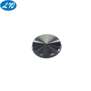 Black Anodized Aluminum Button Machine Parts