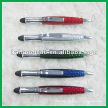 Use plástico promocionais caneta de toque para telefone