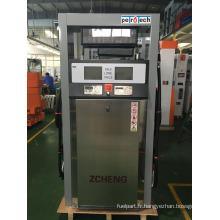 Distributeur de carburant de la station-service Zcheng (double buse)