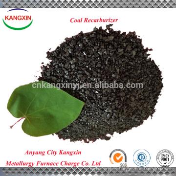 Anyang kangxin le sirve el recarburizador de carbón de alta calidad