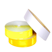hoher Sichtbarkeit Farbe prismatischen reflektierende PVC Reflektorband 200cd