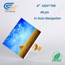 8 Inch Resolution 1024*768 TFT-LCD