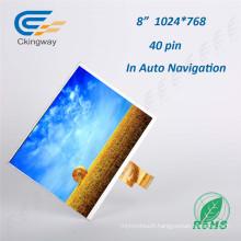 8 Inch Resolution 1024*768 TFT-LCD