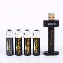 Cargador de batería recargable AA