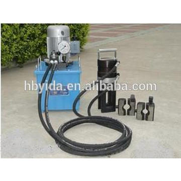 Rebar cold extrusion machine for nuclear power plant