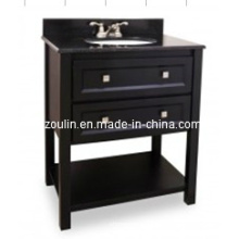 Classic Solid Wood Bathroom Vanity (BA-1107)