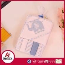 Toalla caliente de la capilla del bebé de la venta de Alibaba, modelo animal de la toalla con capucha, toallas encapuchadas para los animales de los niños