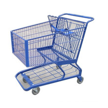 America Style Supermarkte Einkaufsgriffwagen Handwagen