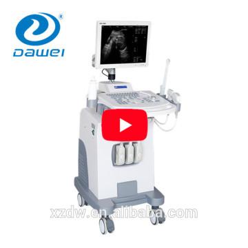 precio de la máquina de ultrasonido y modo de trolly B ultrasonido médico B / W