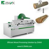 Round Log Single Rip Saw Machine MJ-3015