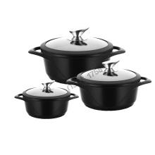 Die casting Aluminium Kitchenware Casserole Pot