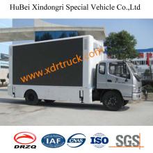Camion d'affichage extérieur LED de Foton 11.5cbm