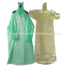 High quality disposable poncho, OEM orders are welcome
