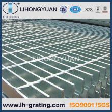 Caillebotis en acier galvanisé pour plate-forme pétrolière gaz projets ISO
