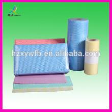 Toalhetes descartáveis não tecidos da limpeza & do pano da limpeza de Spunlace