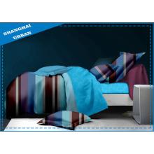 Linge de lit en marbre avec literie en polyester