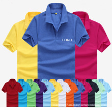 Camiseta al por mayor del polo del precio al por mayor más barato de la fábrica