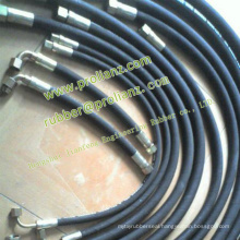 Steel Wire Armoured Rubber Hose Pipe to Myanmar