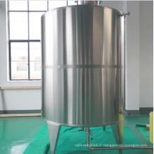 Réservoir de stockage d'eau pure en acier inoxydable