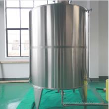 Tanque de almacenamiento de agua pura de acero inoxidable