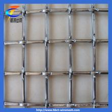 China Fábrica de malha de arame frisado