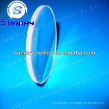 Lentes de menisco de cristal óptico, lente de menisco bk7, recubierto de AR