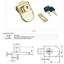 Glasschloss, Möbelschloss, Schubladenschloss, Türverschluss-408g