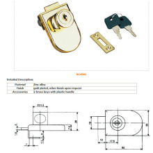 Glass Lock, Furniture Lock, Drawer Lock, Door Lockal-408g