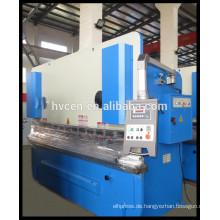 WC67Y-50T / 2500 Spezifikation Plattenbiegemaschine
