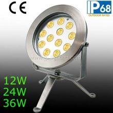 IP68 12W 24W 36W LED Underwater Spot Light