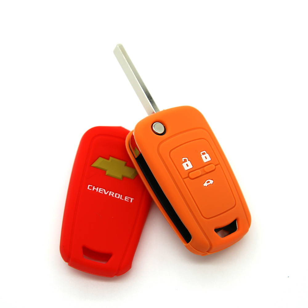 soft silicon car key cover