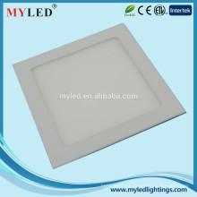 Alto rendimiento 20w led panel de luz oficina 220x220 LED techo de iluminación del panel
