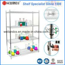 NSF Metal Medicine Storage Display Rack pour hôpital